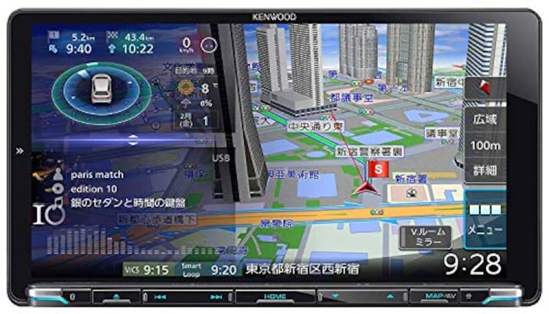 ケンウッド(KENWOOD),ハイビジョン彩速ナビゲーション,MDV-M906HDL