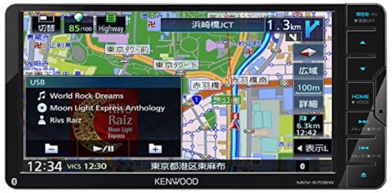 ケンウッド(KENWOOD),彩速ナビゲーションシステム,MDV-S706W
