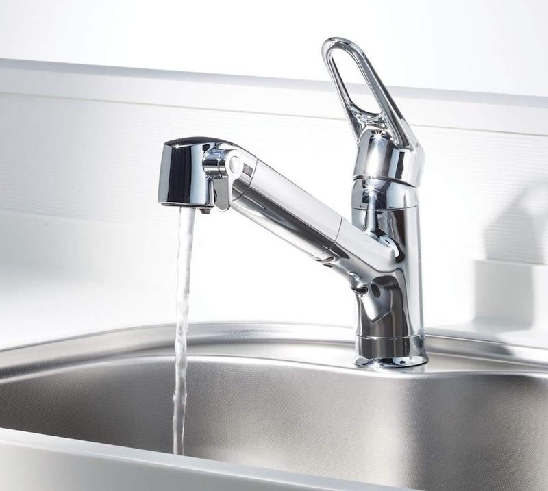 LIXIL(リクシル),浄水器内蔵シングルレバー混合水栓,RJF-771Y