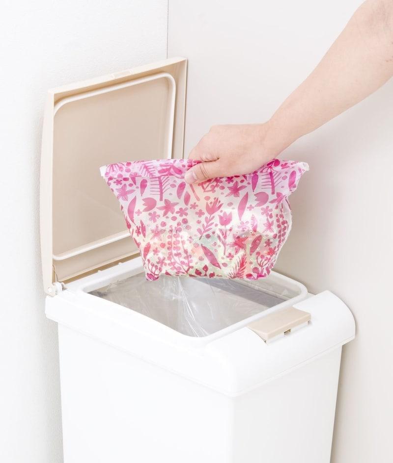 カワタキコーポレーション,らくらっくー 自立型水切りゴミ袋,-