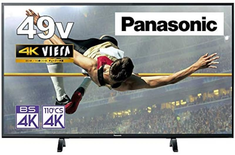 パナソニック,ビエラ 49V型4K液晶テレビ,TH-49GX500