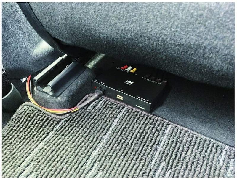 ELUT, 車用地上デジタルチューナー,AG406DT