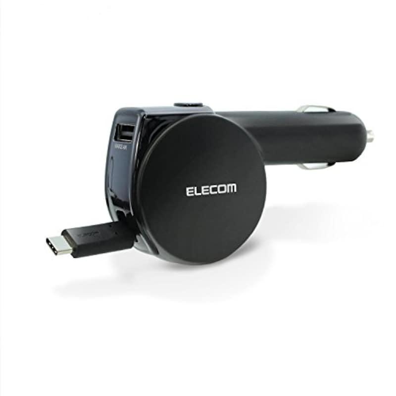 エレコム,カーチャージャー 車載充電器 カー用品