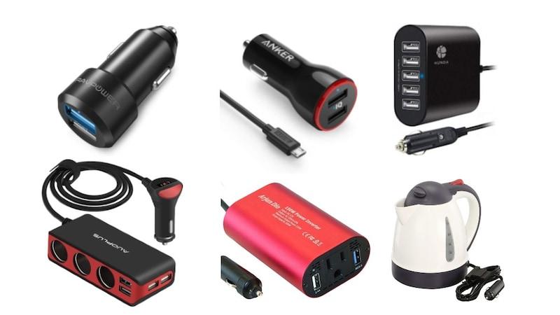 シガーソケット商品おすすめ人気ランキング31選|USB充電器、増設商品、コンセントも使用できるものを紹介!