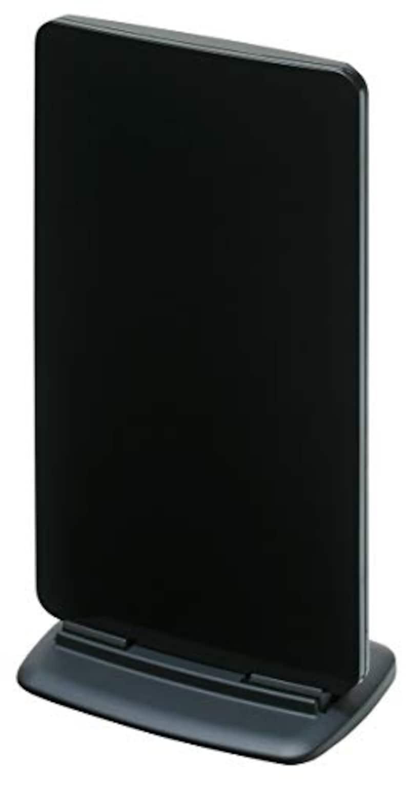 マスプロ電工,家庭用UHF卓上アンテナ ブースター内蔵型,UTA2B