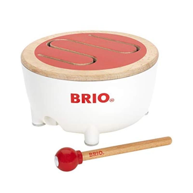 BRIO (ブリオ) ,木製ドラム,30181
