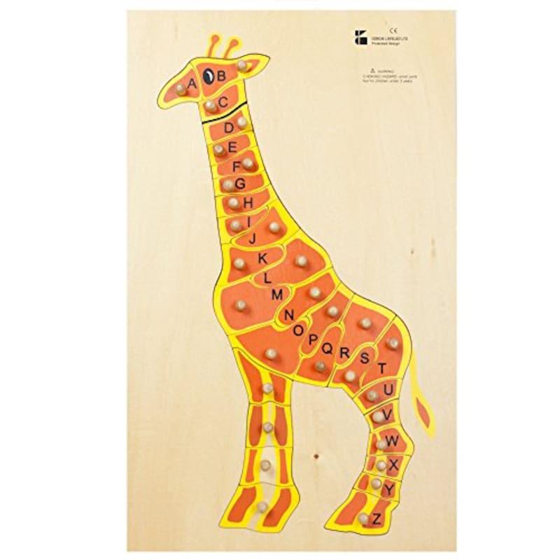 DORON LAYELED,アニマルABCパズル (キリン),E725156
