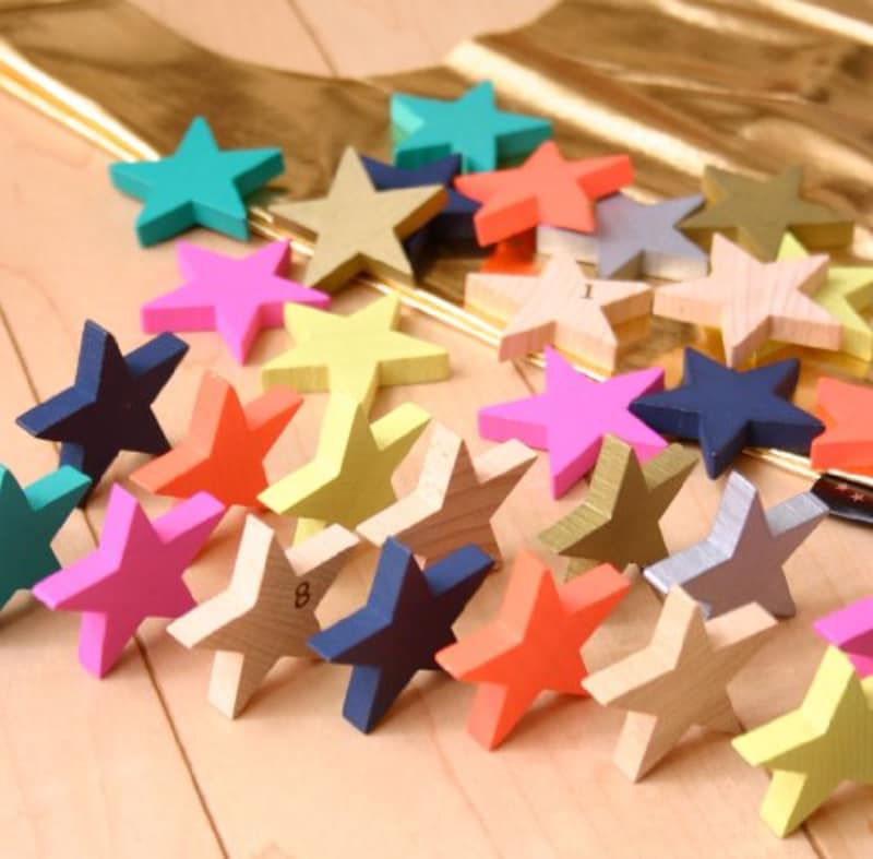 kukkia(クキア),kiko+tanabata星形ドミノセット,43177-5680