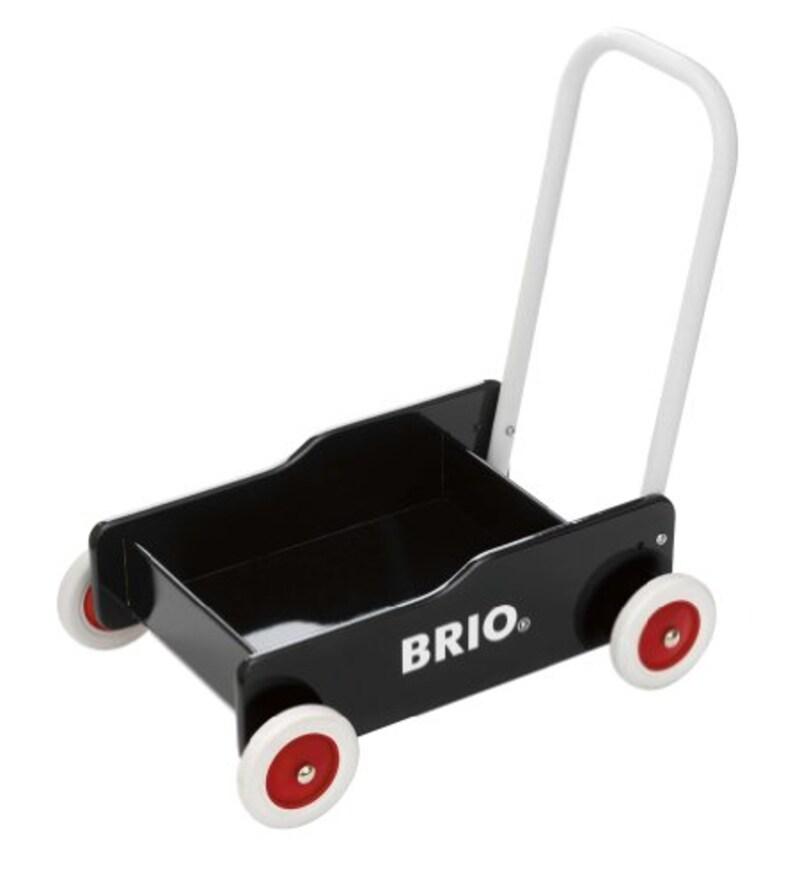 BRIO(ブリオ),手押し車ブラック,31351