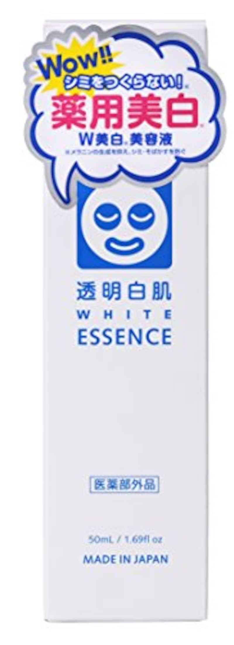 透明白肌,薬用Wホワイトエッセンス