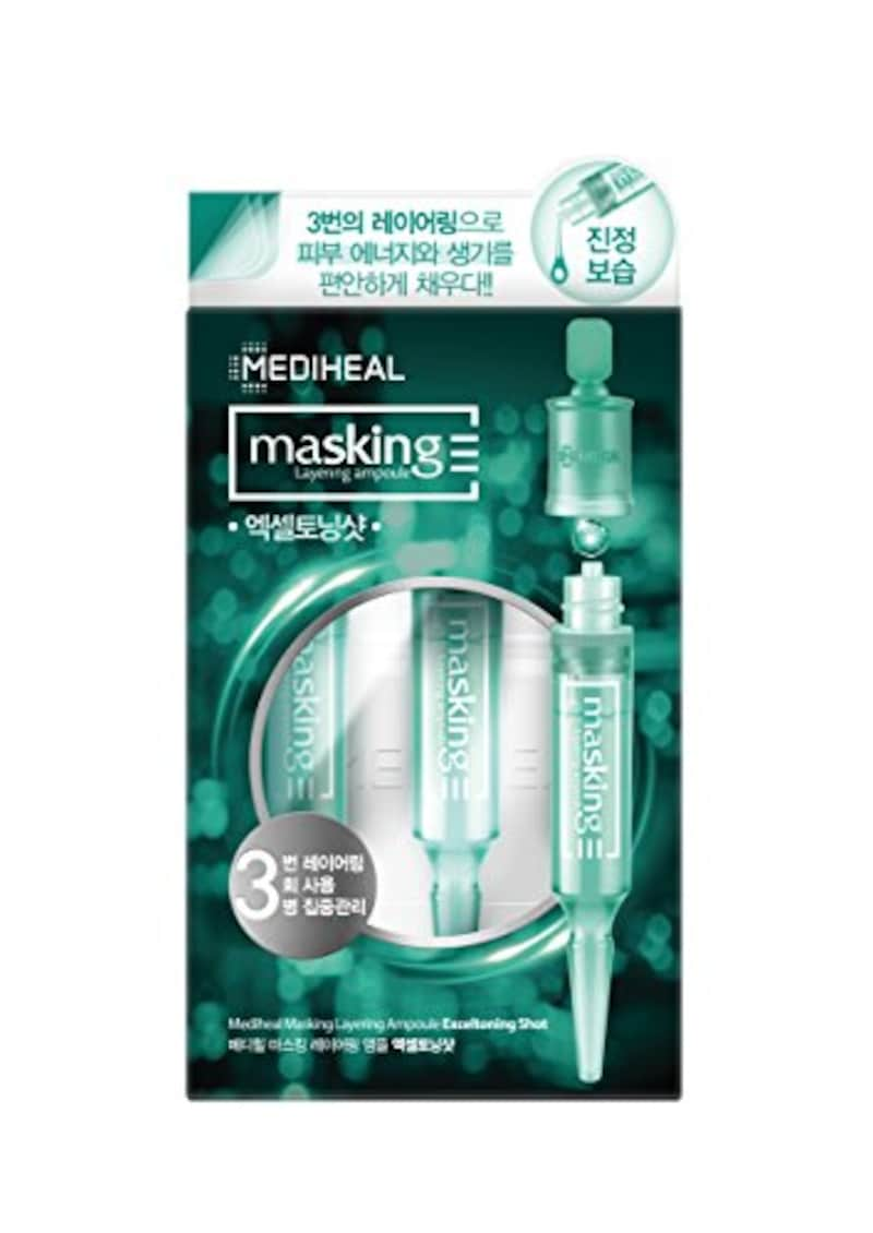MEDIHEAL(メディヒール),マスキング レイアリング アンプル エクセルトーニングショット