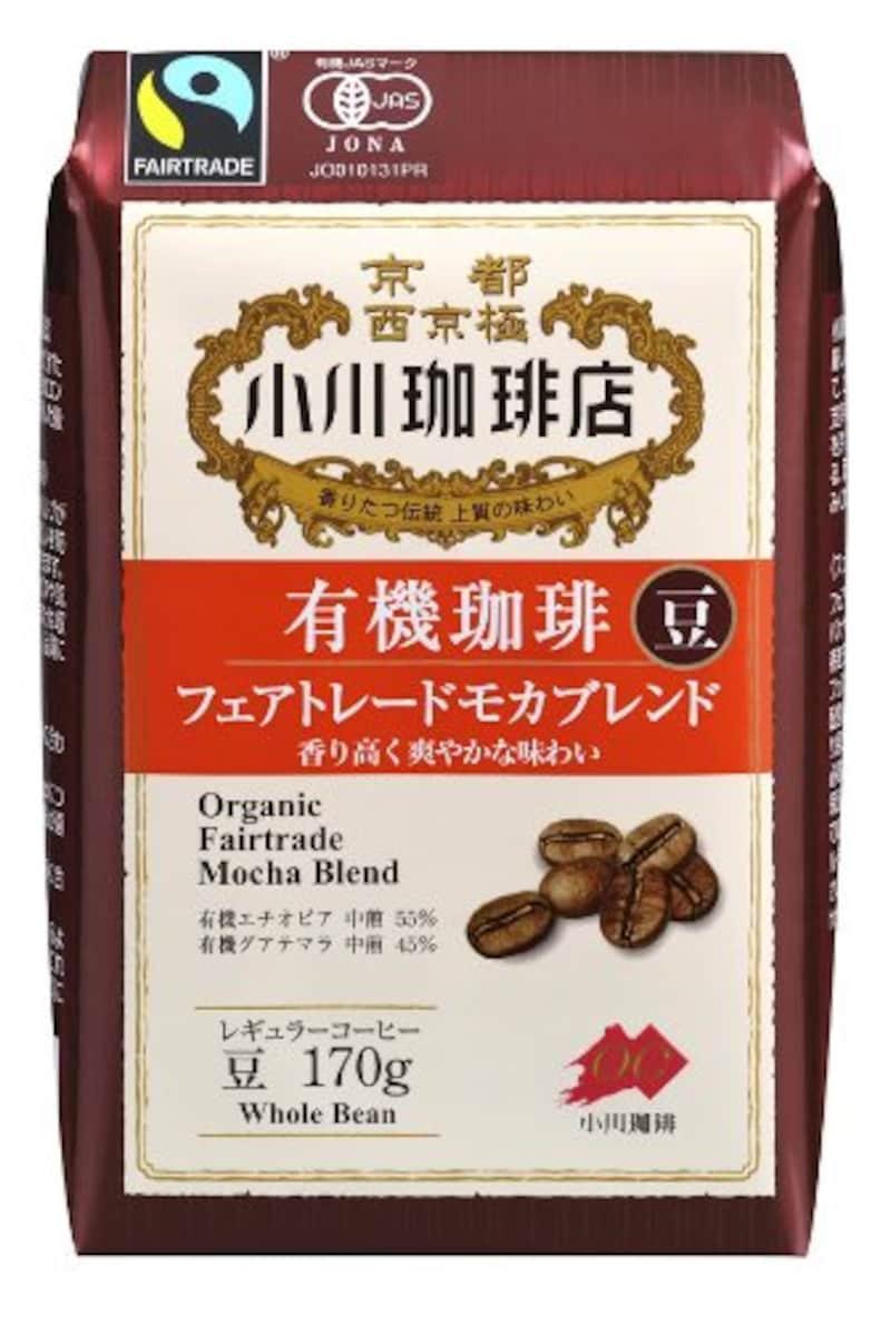 小川珈琲,有機珈琲フェアトレードモカブレンド豆
