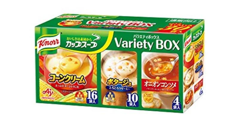 味の素,クノールカップスープ バラエティボックス