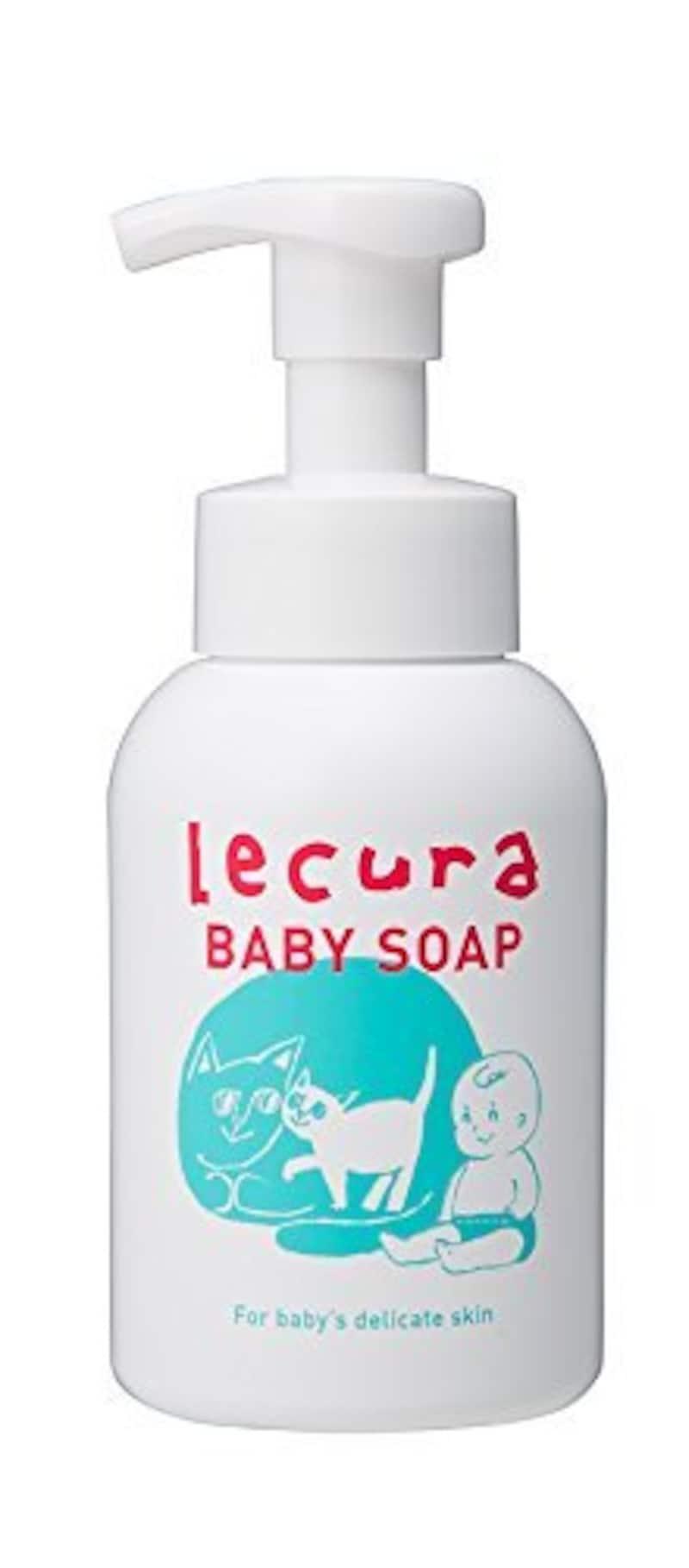 Lecura(ルクラ),泡で出てくる全身用ベビーソープ 本体 300ml