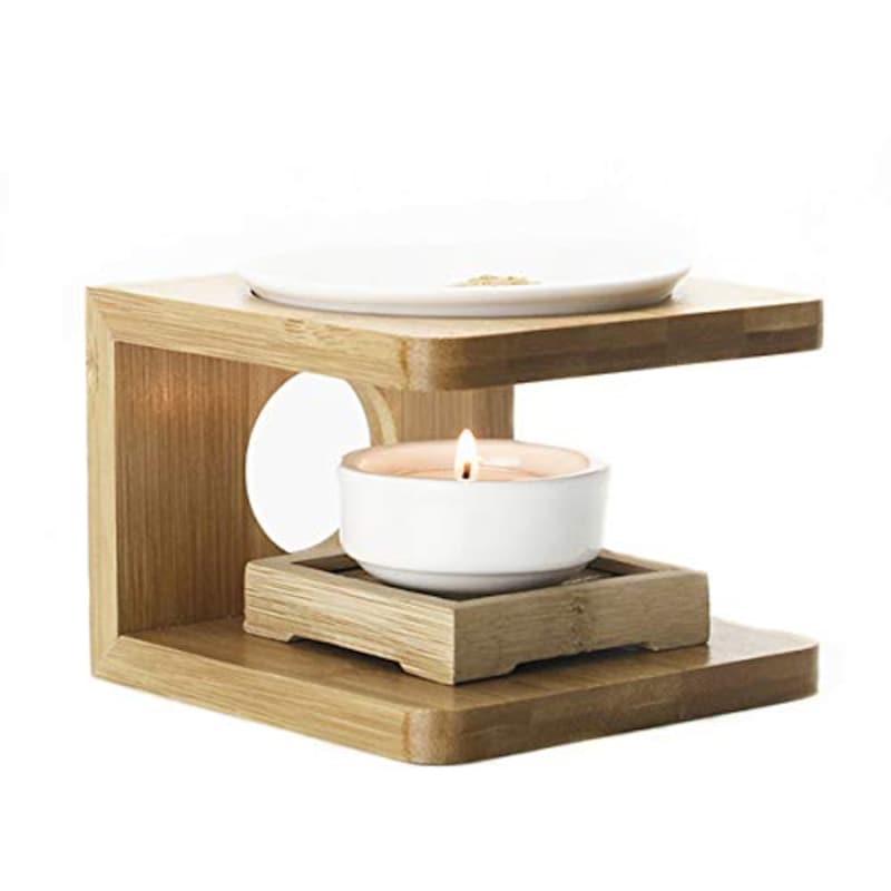 HAMILO,竹製台座 陶磁器,MU-00001
