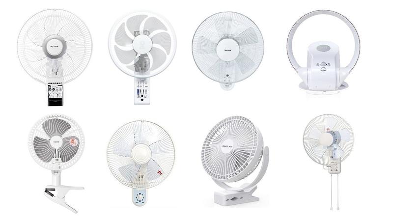 壁掛け扇風機おすすめ人気ランキング15選|DCモーターで静かなおしゃれでレトロな商品も紹介!金具などによる取り付け方法も