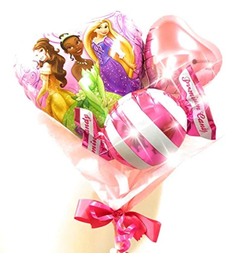 Candy Flower March,Disneyプリンセスバルーンブーケ