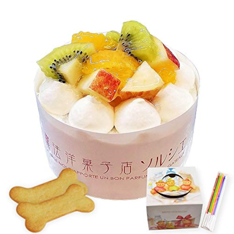 魔法洋菓子店ソルシエ,犬 ケーキ 小型犬 中型犬 3号
