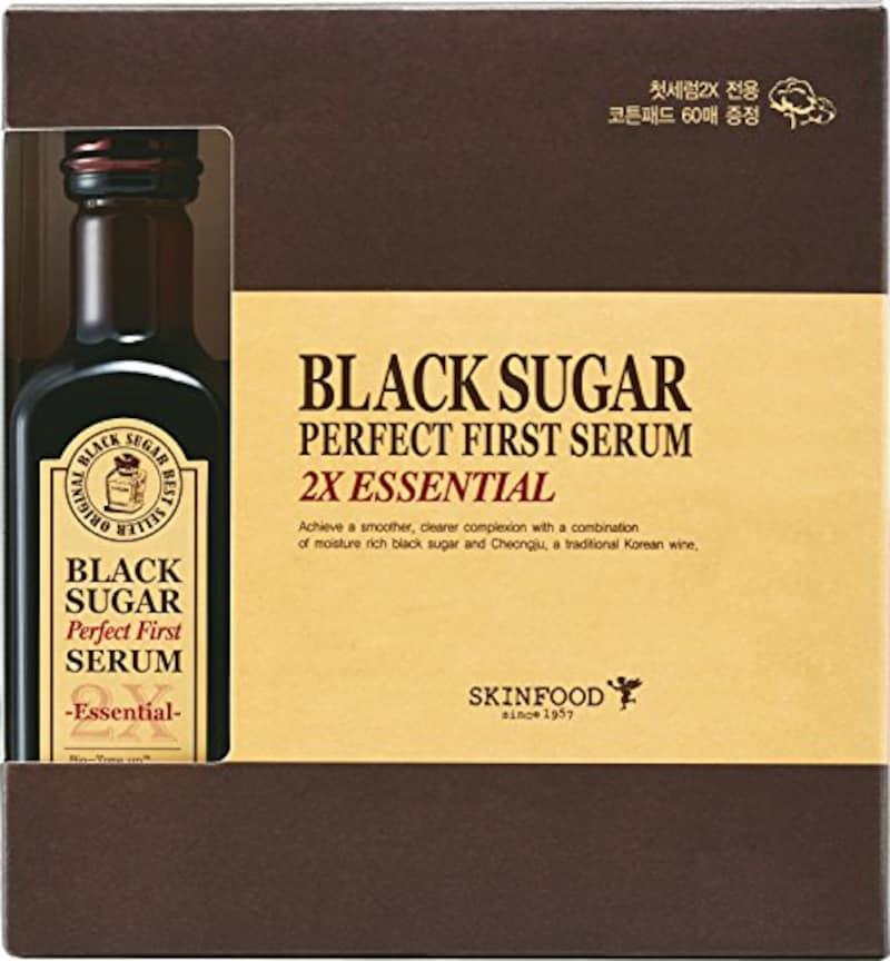 スキンフード(Skin Food),ブラックシュガー パーフェクト 2Xエッセンシャル