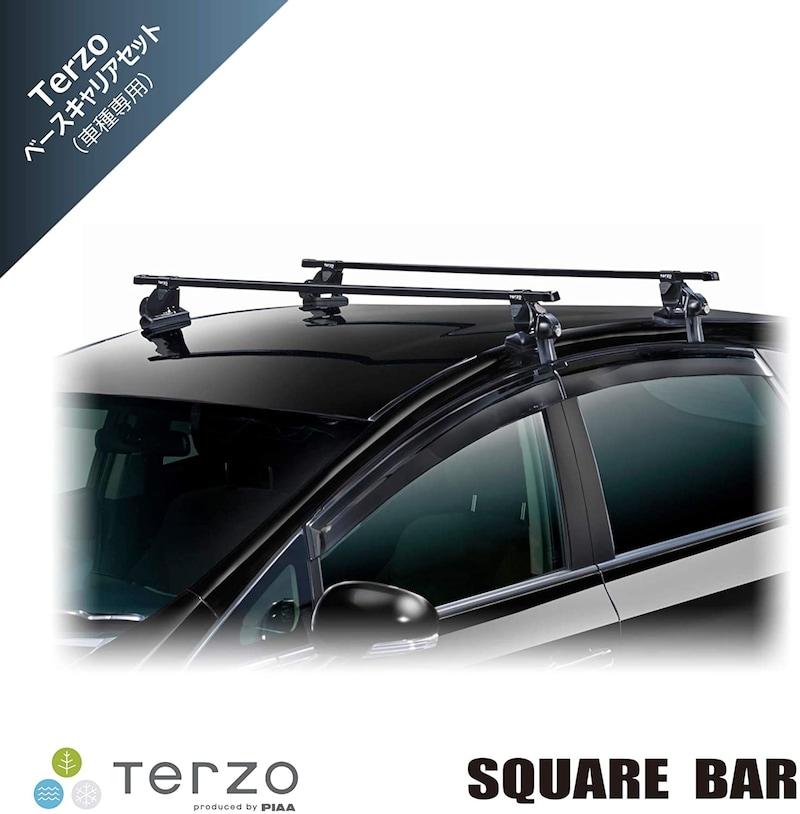 TERZO(テルッツォ),【Amazon.co.jp 限定】車種別ベースキャリアセット スクエアバータイプ,KIT7065T