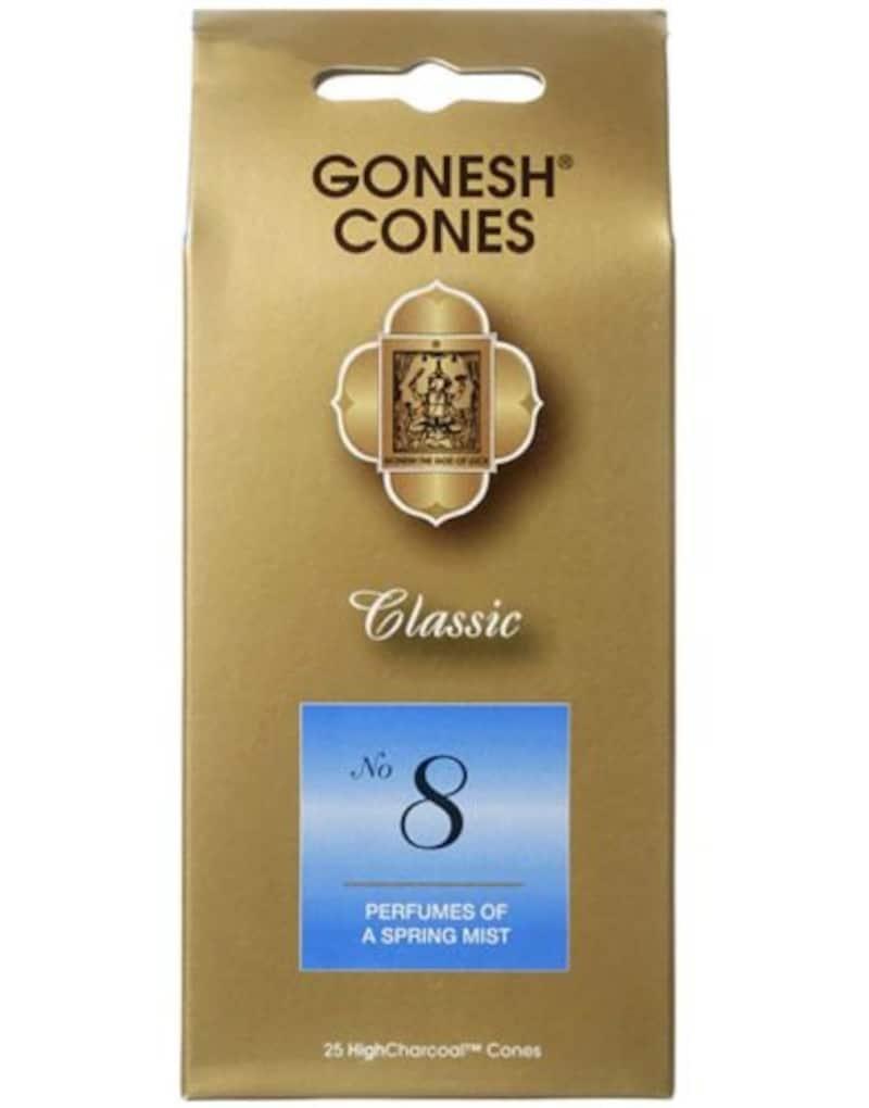 GONESH(ガーネッシュ),ナンバー インセンス コーン No.8