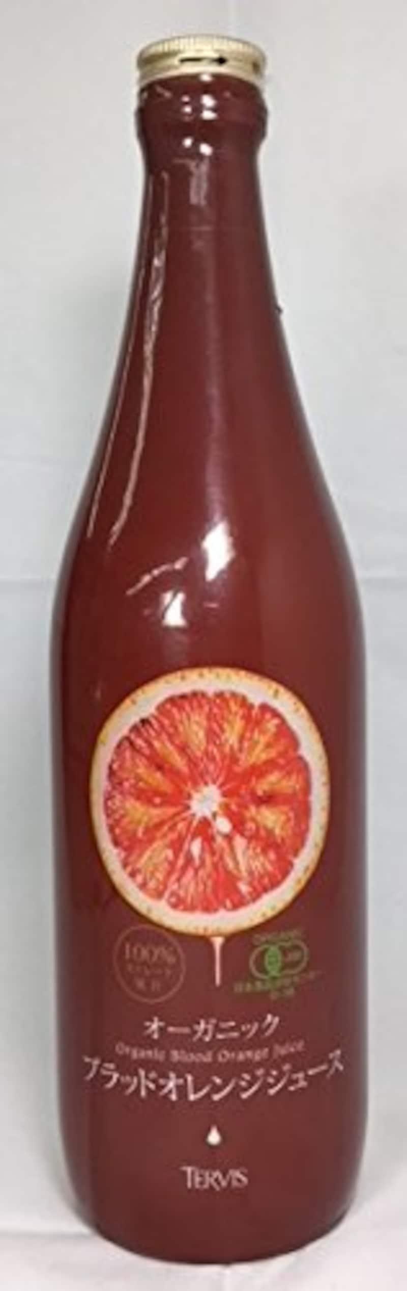 テルヴィス,オーガニックブラッドオレンジジュース