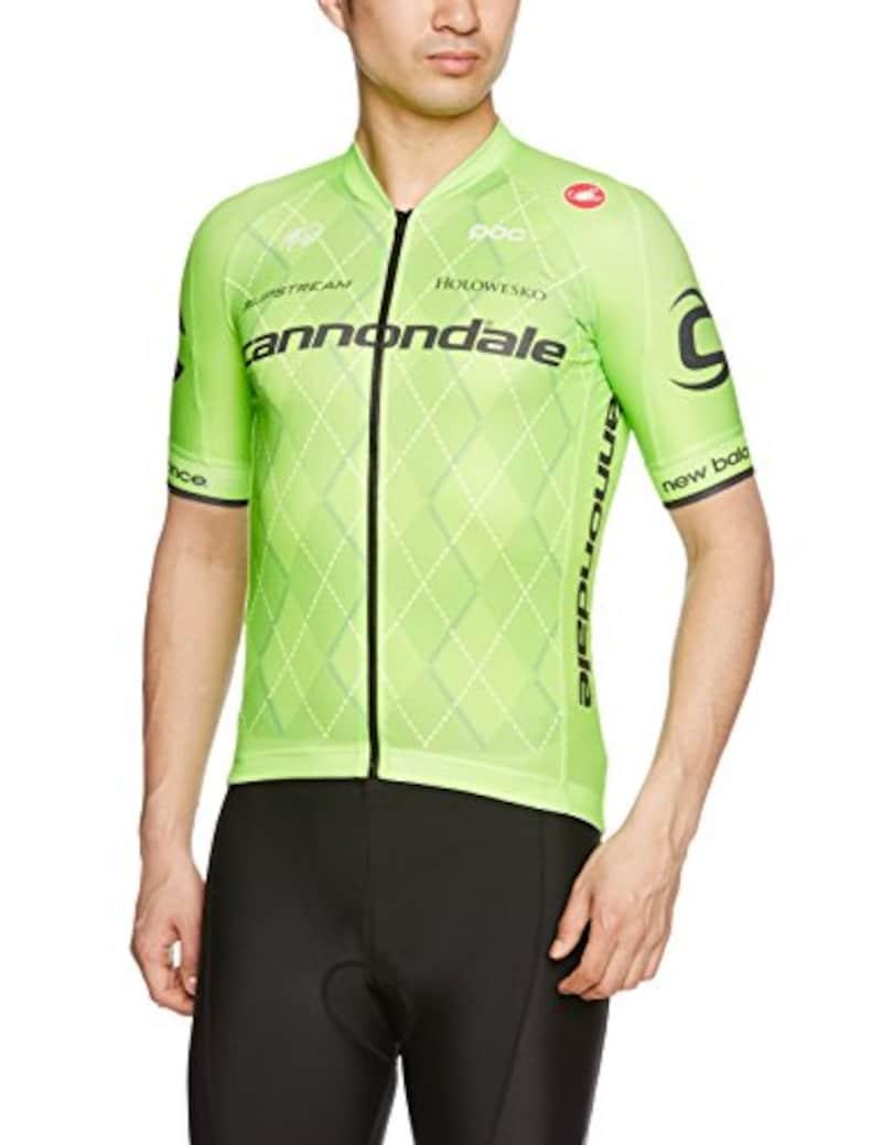 CASTELLI(カステリ),キャノンデール プロサイクリングチーム2.0ジャージ, 6T164