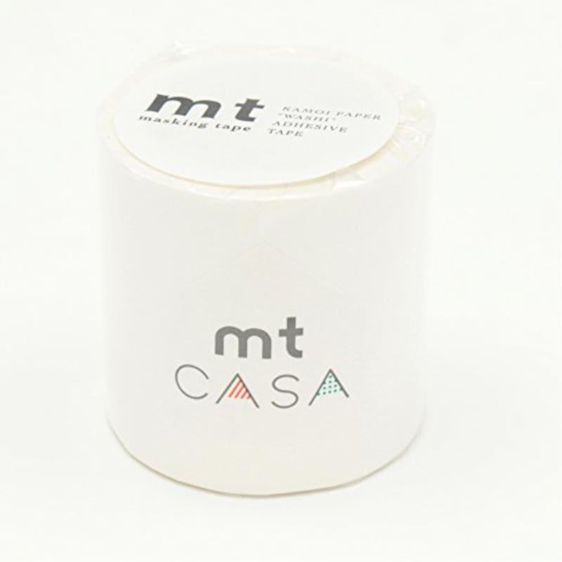 カモ井加工紙,mt CASA 50mm マットホワイト,MTCA5086