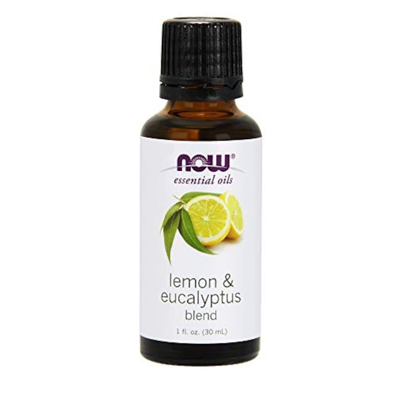 NOW essential oils,レモン&ユーカリ精油