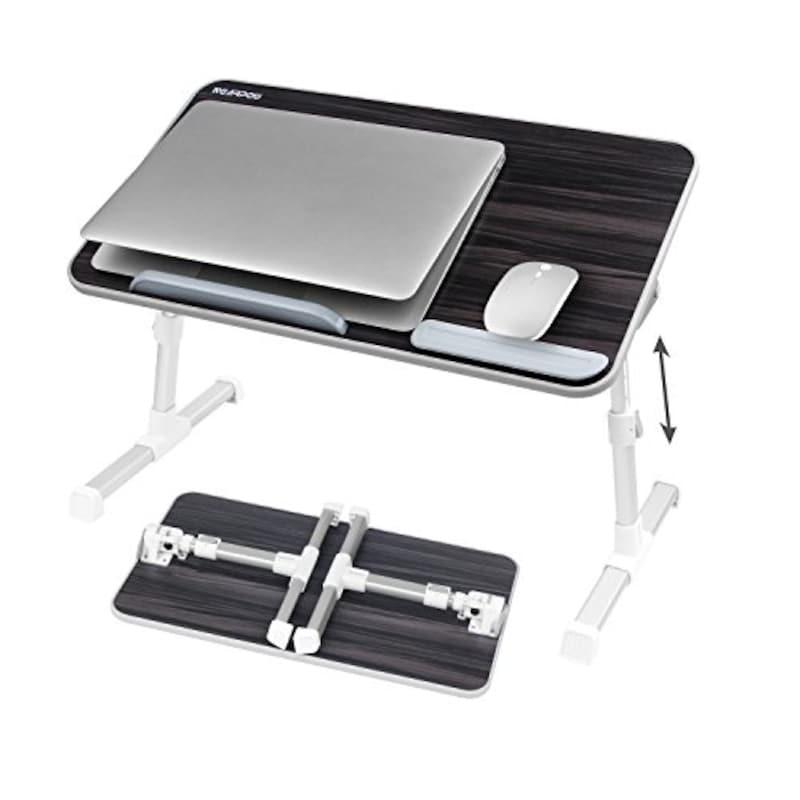 NEARPOW , 折りたたみ式 ノートパソコンスタンド ベッドテーブル