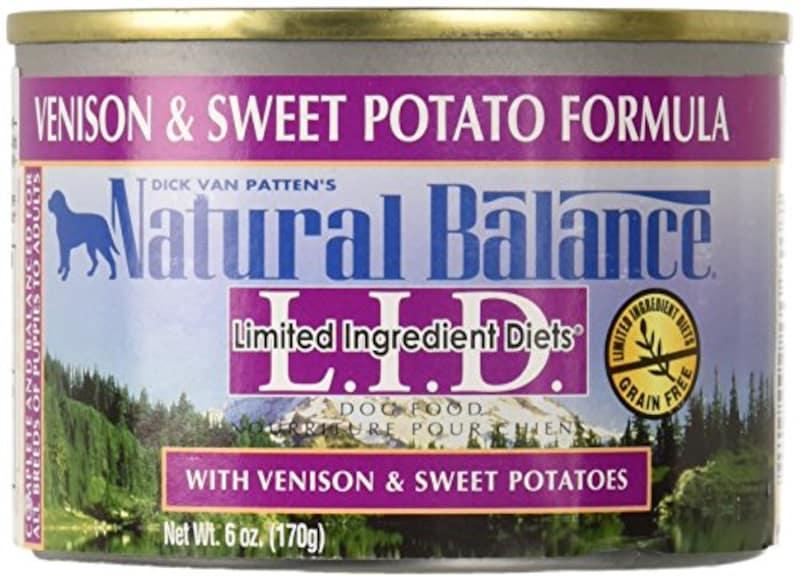 ナチュラルバランス,ベニソン&スウィートポテト ドッグ缶 170g