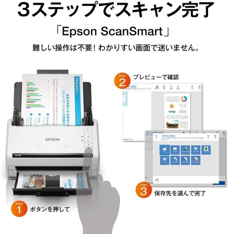 エプソン(EPSON),スキャナー,DS-530