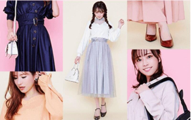 グラングレス,流行ファッションをレンタルし放題♪新感覚サービス Rcawaii