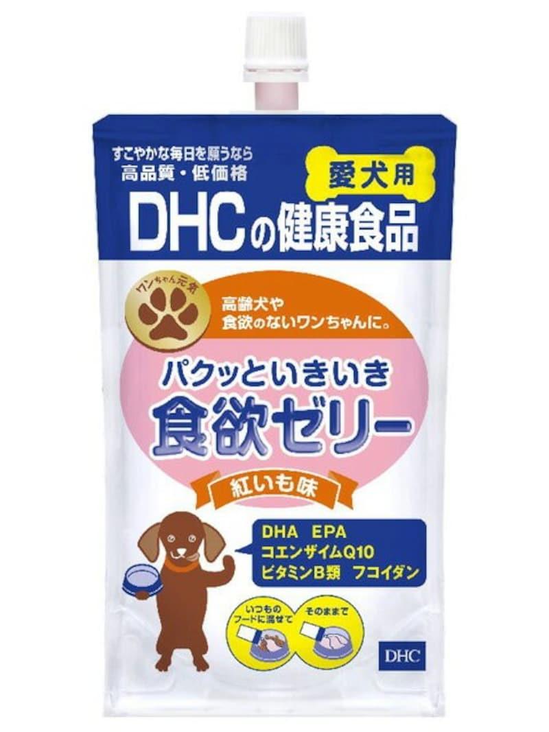 DHC,パクッといきいき食欲ゼリー 紅いも味(130g) 愛犬用