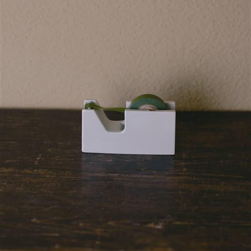 倉敷意匠計画室,白磁 テープカッターS,94701-01