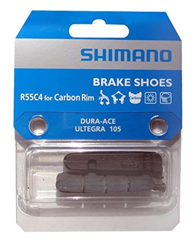 シマノ(SHIMANO),R55C4 BR-9000 カーボンブレーキシュー リム幅21mm-24mm用,Y8L298070