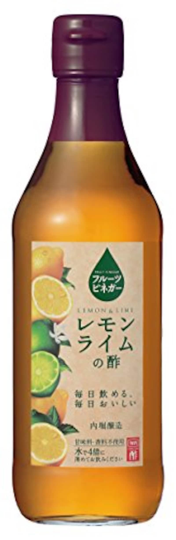 内堀醸造,フルーツビネガー レモンライムの酢