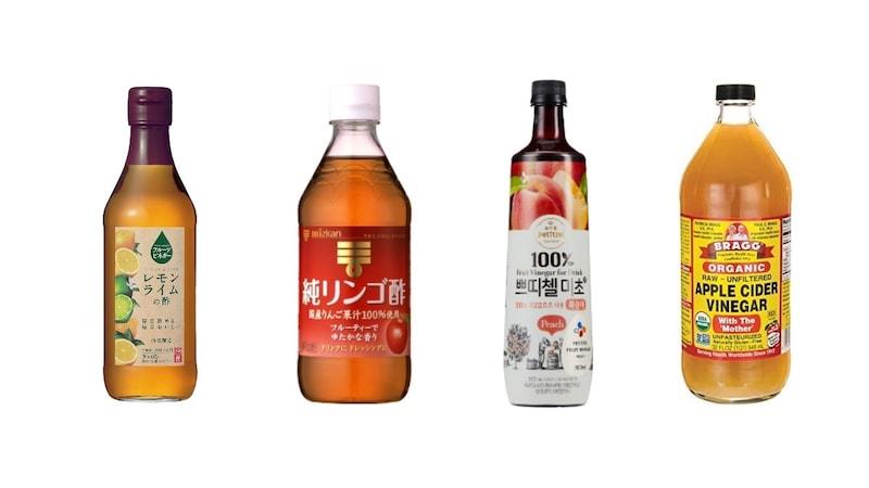 果実酢のおすすめ人気ランキング10選|作り方やレシピも紹介!