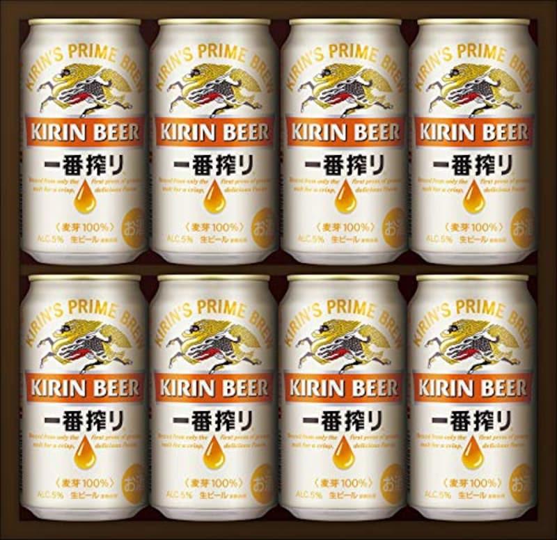 キリンビール,キリン一番搾り生ビールセット  350ml×8本, K-IS2