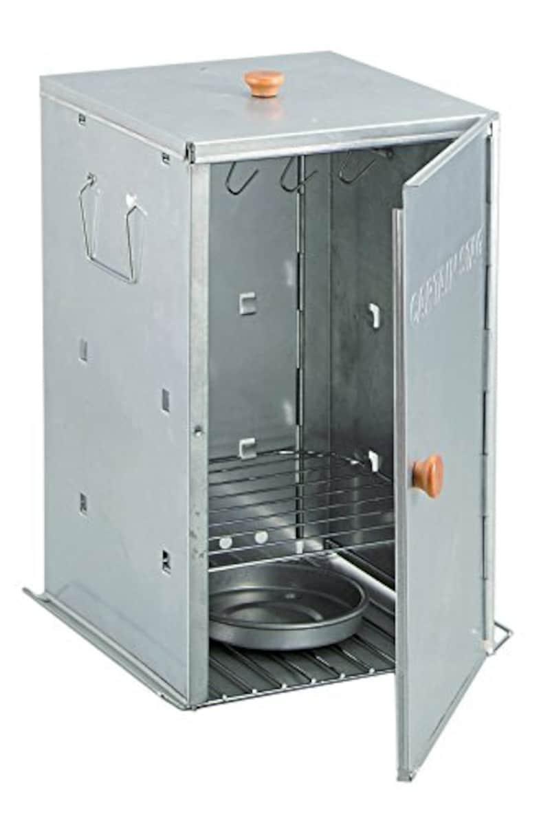 キャプテンスタッグ(CAPTAIN STAG),BBQ用燻製器アドバンス折りたたみスモーカー,M-6547