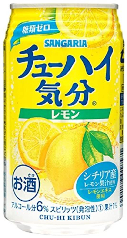 サンガリア,チューハイ気分レモン
