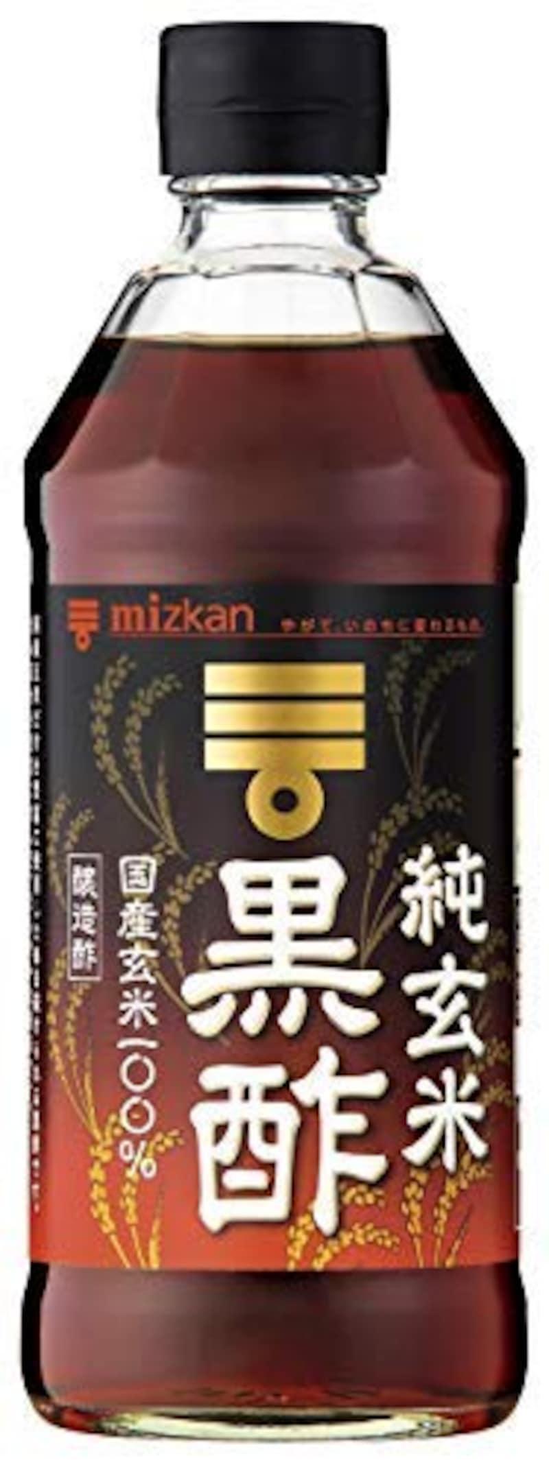 ミツカン,純玄米黒酢