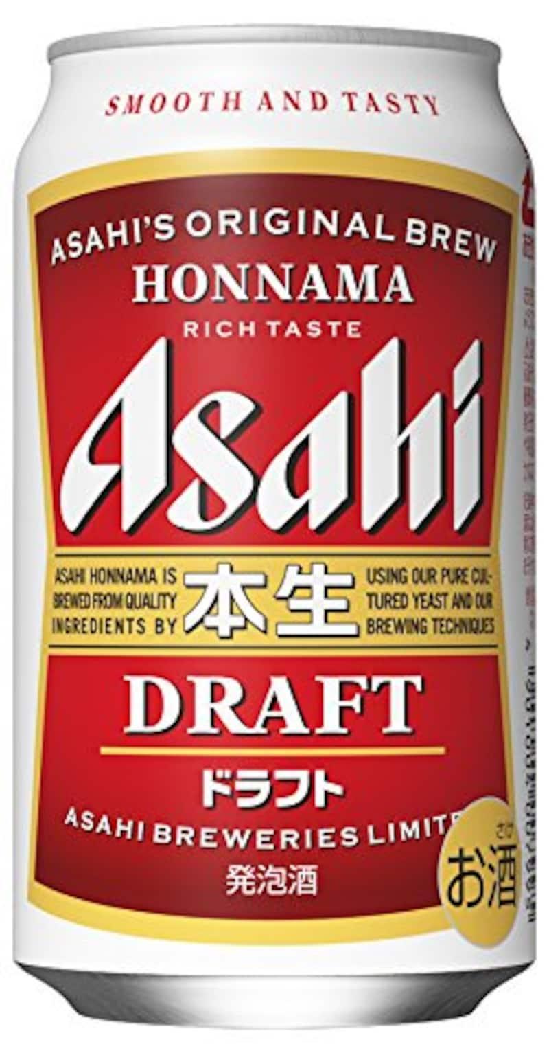 アサヒ,本生ドラフト 350ml×24本