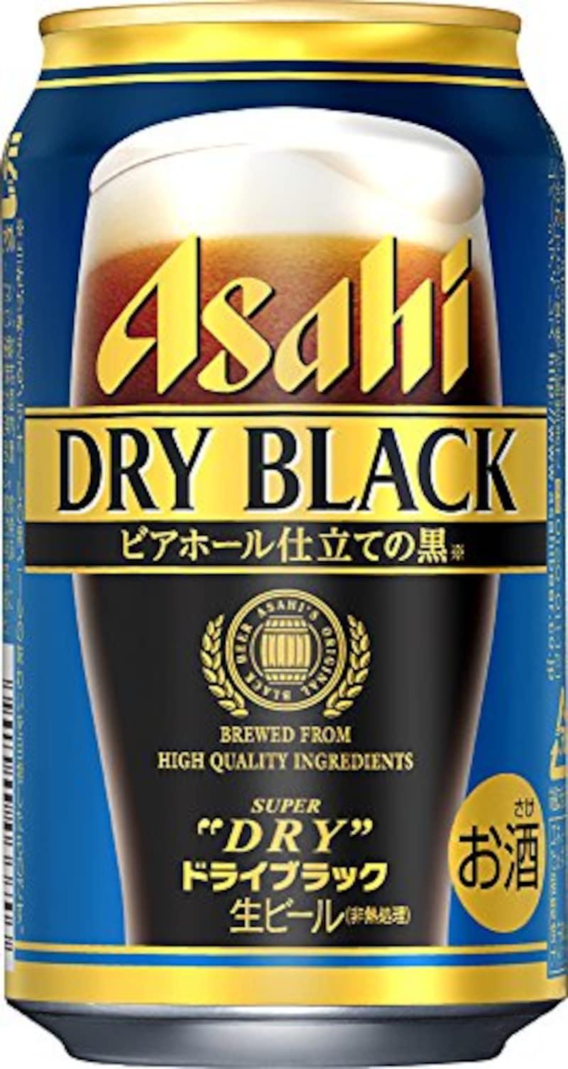 アサヒ,スーパードライ ドライブラック ビアホール仕立ての黒 350ml×24本