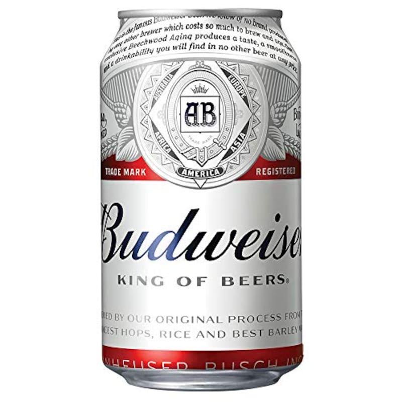 Budweiser(バドワイザー),バドワイザービール ラガータイプアメリカ 355ml×24本