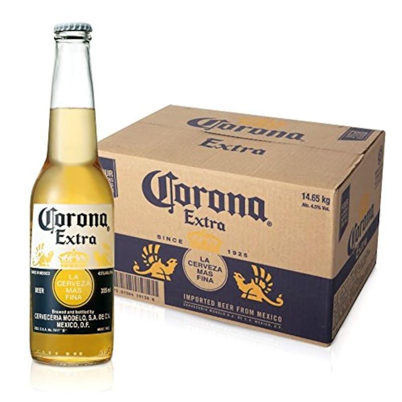 コロナビール,コロナ・エキストラ ボトル 355ml×24本