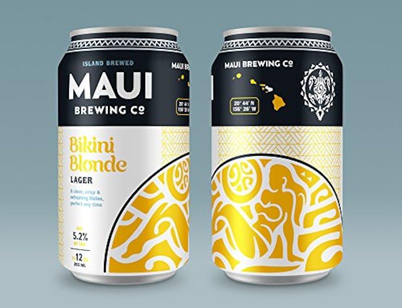 Maui(マウイ),クラフトビール マウイ ビキニブロンドラガー 355ml×6