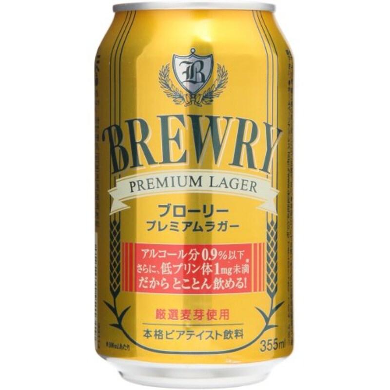 BREWRY(ブローリー),プレミアムラガー ノンアルコール 355mlx24本