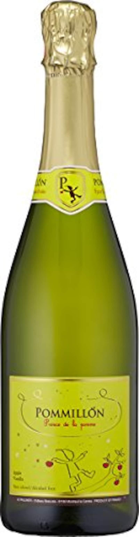 アレグレス,ポミヨン ノンアルコールシードル 白泡