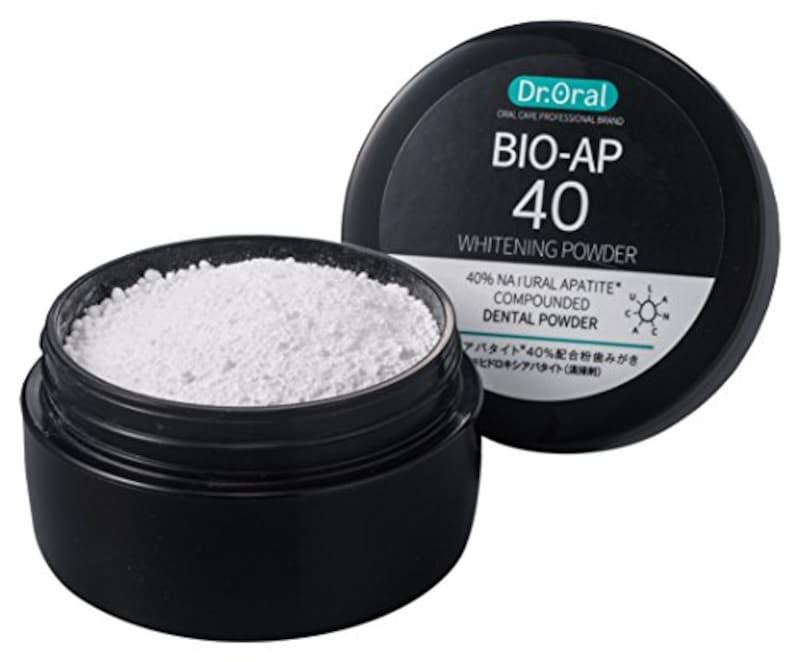 ドクターオーラル,ホワイトニングパウダー 天然アパタイト40%配合
